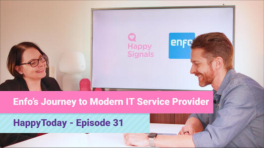 Enfo's journey to a modern IT Service Provider