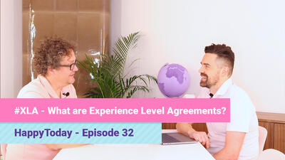 HappyToday podcast: What are Experience Level Agreements?