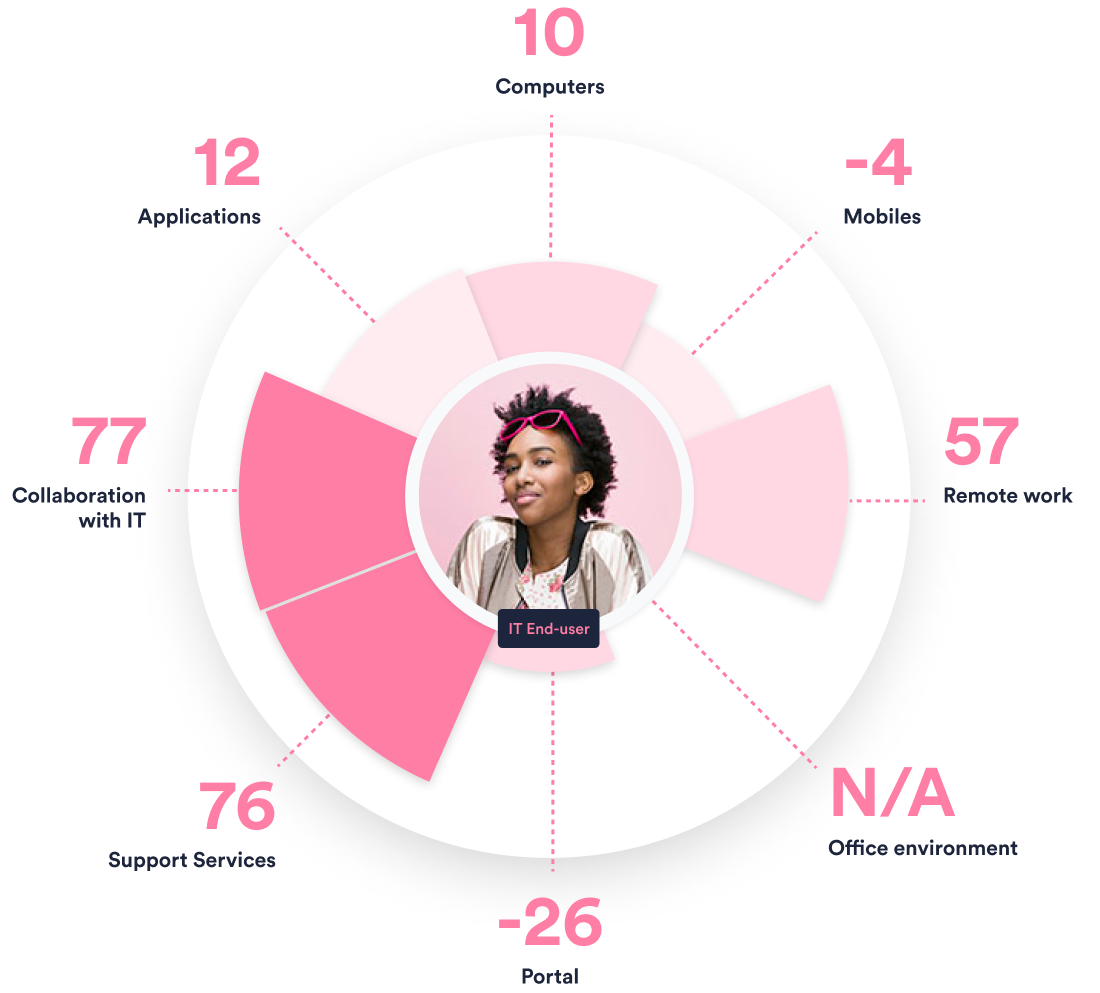 IT Experience Management Scores
